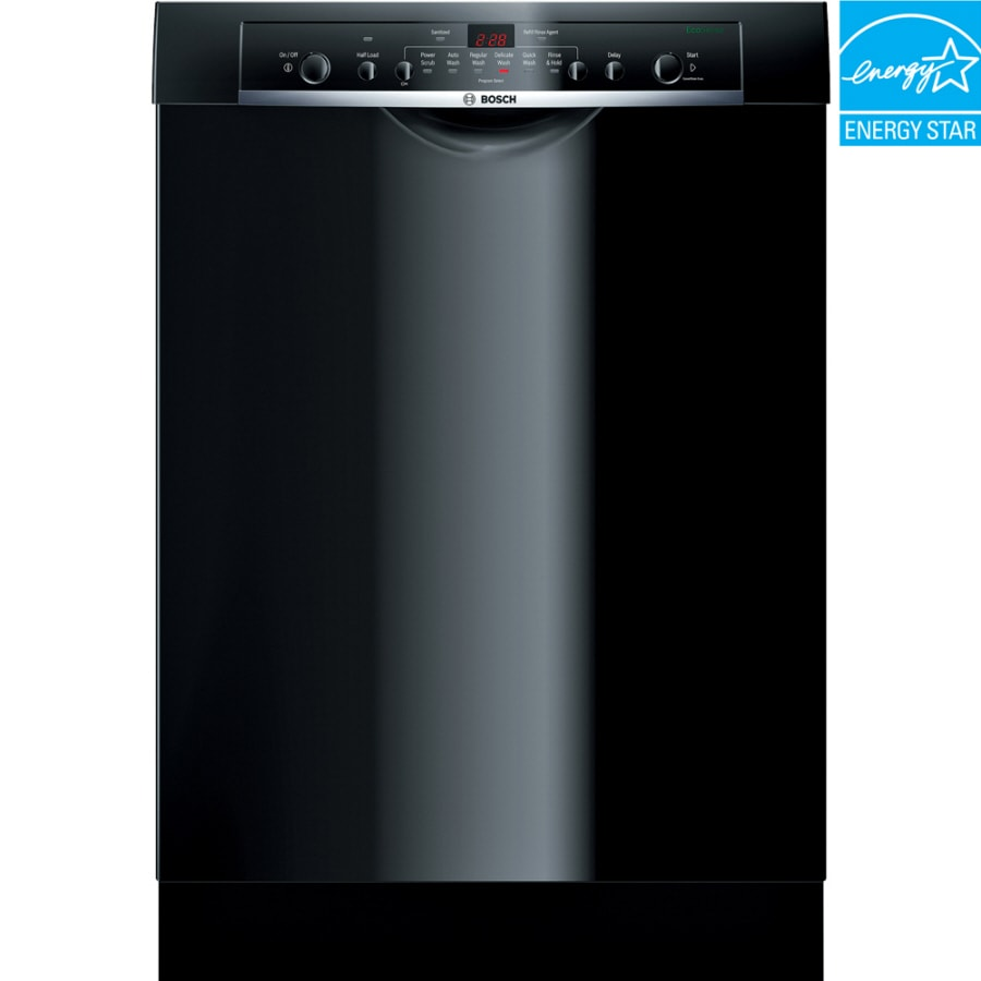 Maytag Mdb5969sdh 24 In 50 Decibel Built In Dishwasher: Bosch Ascenta 50-Decibel Built-in Dishwasher (Black