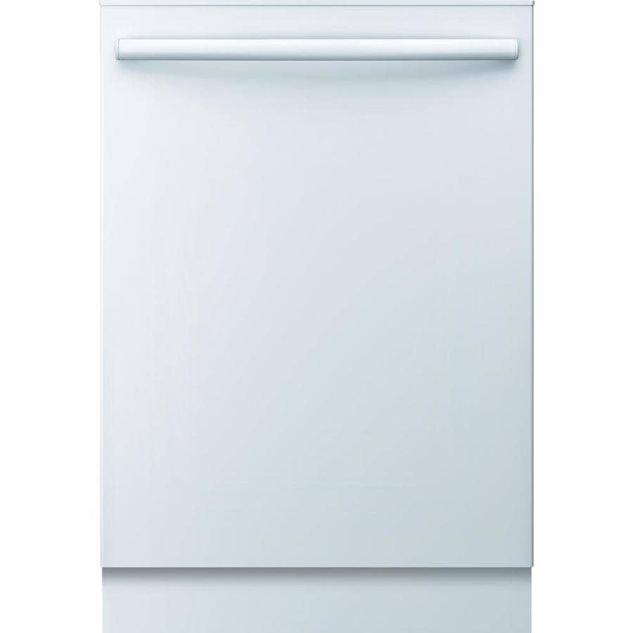 Bosch Ascenta 50-Decibel Built-In Dishwasher (White) (Common: 24-in; Actual: 23.625-in) ENERGY STAR