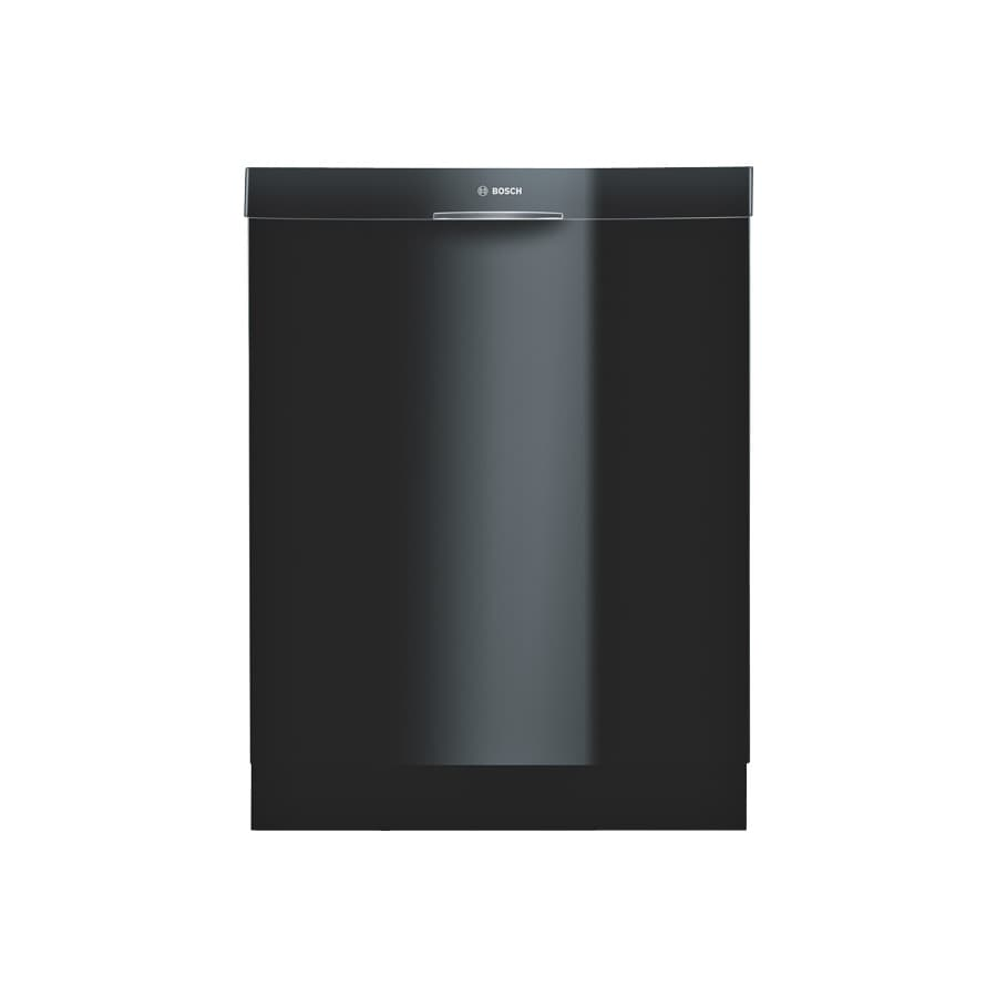 Bosch 300 Series 24-in Built-In Dishwasher (Black) ENERGY STAR