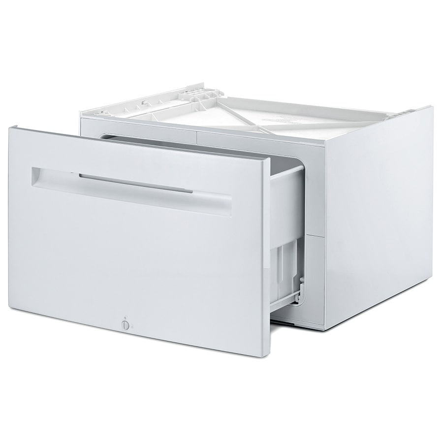 Bosch White 16.92-in x 24.8-in Washer Pedestal with Storage Drawer