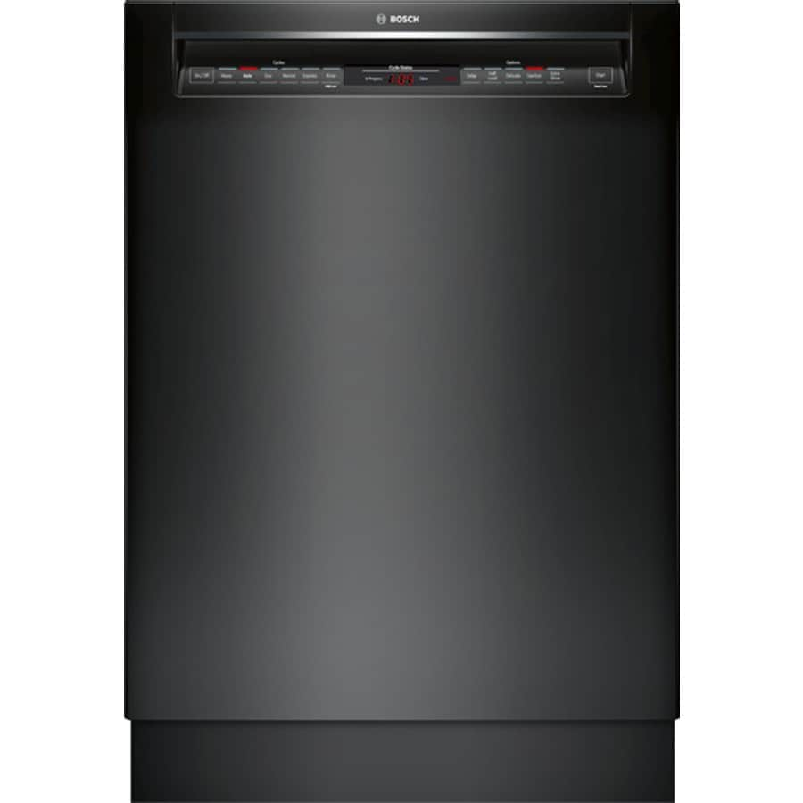 Bosch 800 Series 44-Decibel Built-In Dishwasher (Black) (Common: 24-in; Actual: 23.625-in) ENERGY STAR