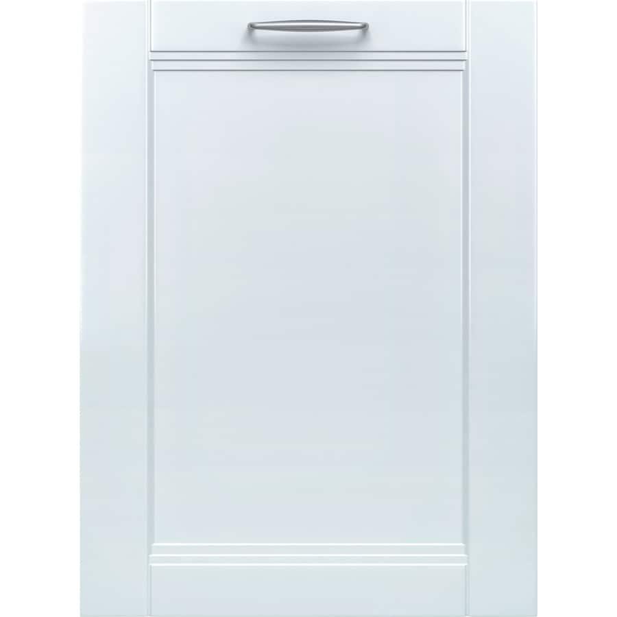Bosch 800 Series 44-Decibel Built-In Dishwasher (Custom Panel) (Common: 24-in; Actual: 23.625-in) ENERGY STAR