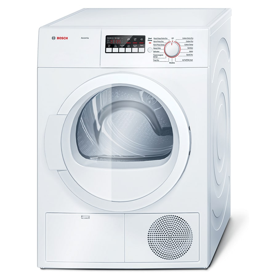 Bosch 4-cu ft Stackable Electric Dryer (White)