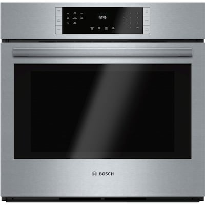 800 Self Cleaning True Convection Single Electric Wall Oven Steel Stainless Common 30 Inch Actual 29 75 In