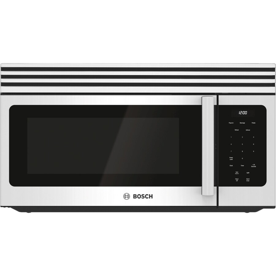 Bosch 300 Series 1.6-cu ft Over-The-Range Microwave (White) (Common: 30-in; Actual: 29.87-in)