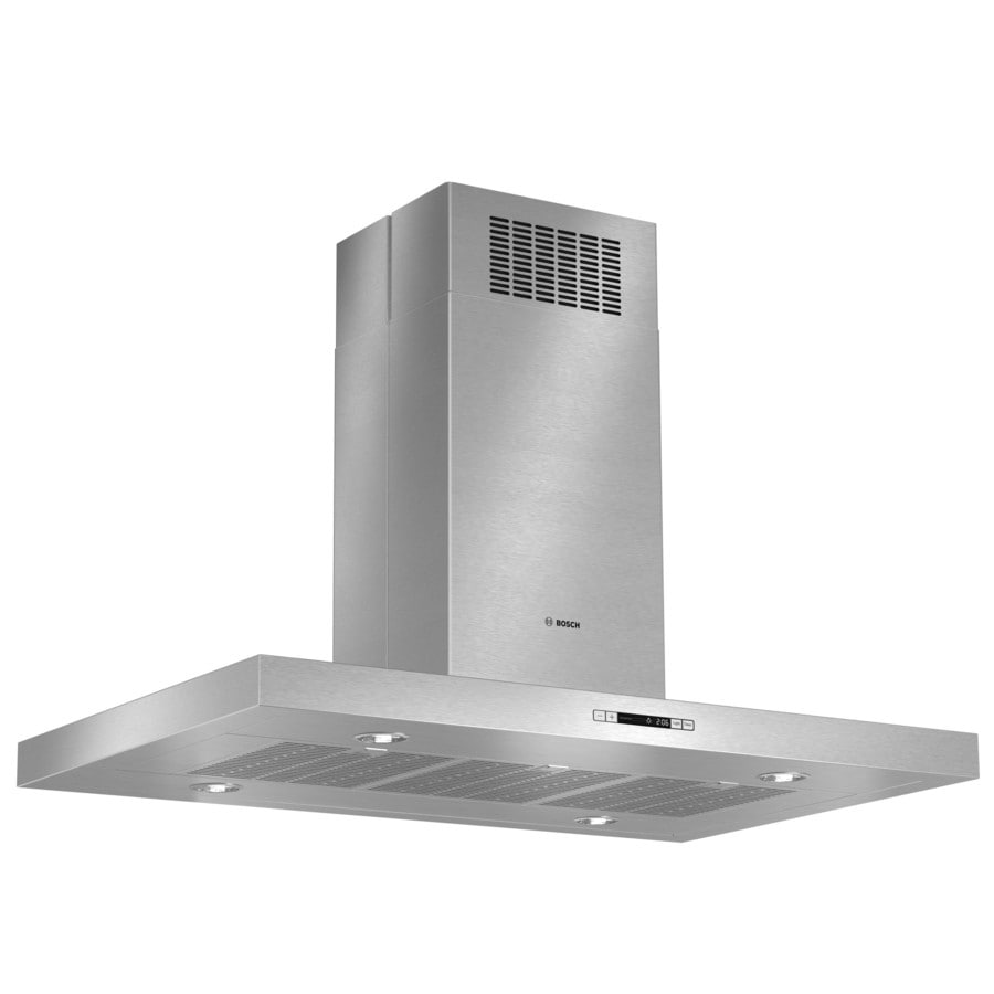 Bosch Convertible Island Range Hood Stainless Steel Common 42 In
