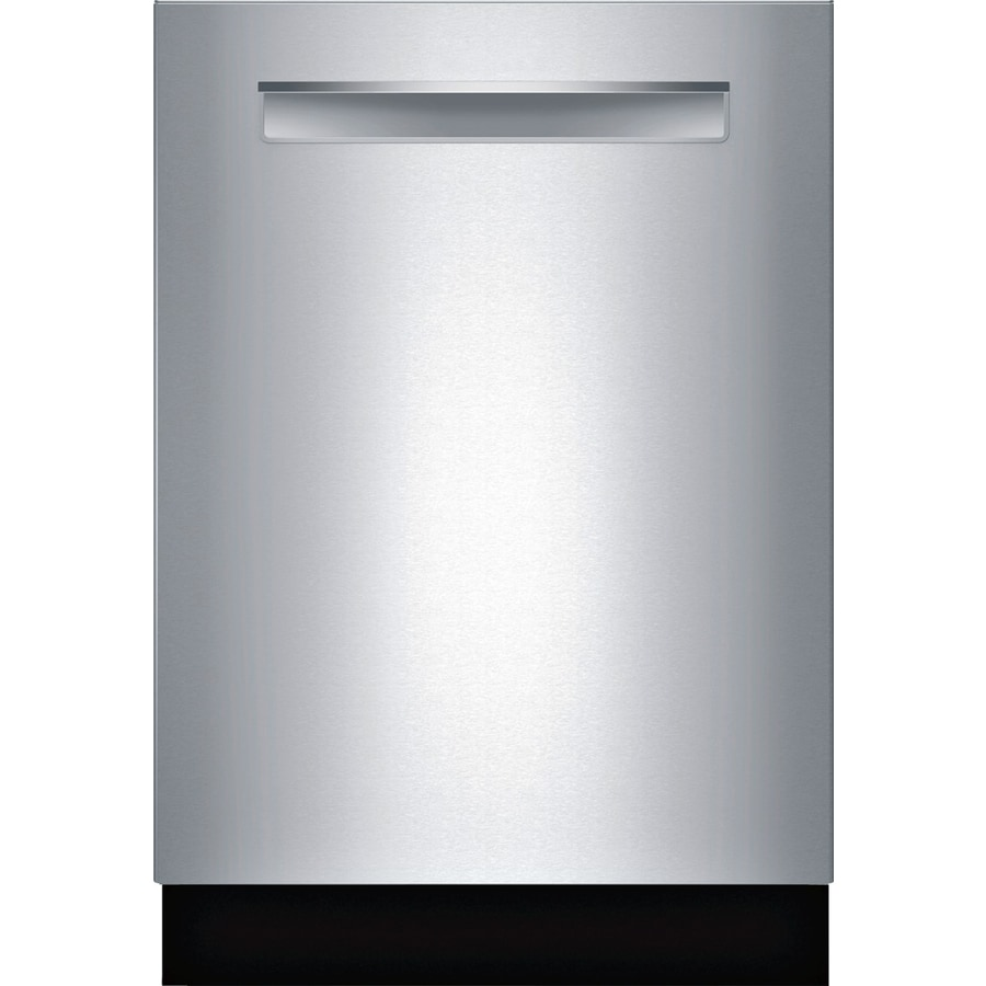 Bosch 800 Series 44-Decibel Built-In Dishwasher (Stainless Steel) (Common: 24-in; Actual: 23.0625-in) ENERGY STAR