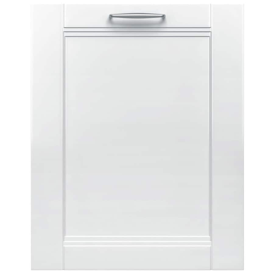 Bosch 800 Series 44-Decibel Built-in Dishwasher (Panel Ready) (Common: 24-in; Actual: 23.5625-in) ENERGY STAR