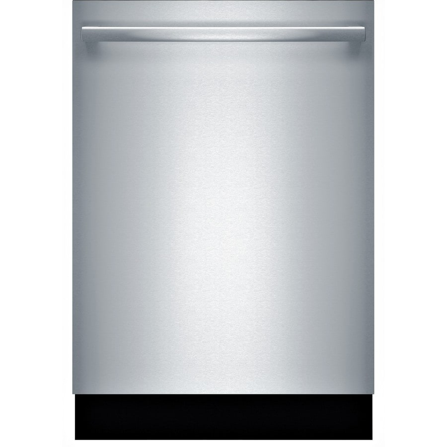 Bosch 800 Series 40-Decibel Built-in Dishwasher (Stainless Steel) (Common: 24-in; Actual: 23.563-in) ENERGY STAR Certified