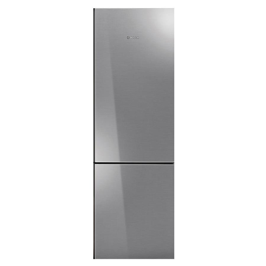 Bosch 800 Series 10.07-cu ft Counter-Depth Bottom-Freezer Refrigerator (Stainless steel behind glass) ENERGY STAR