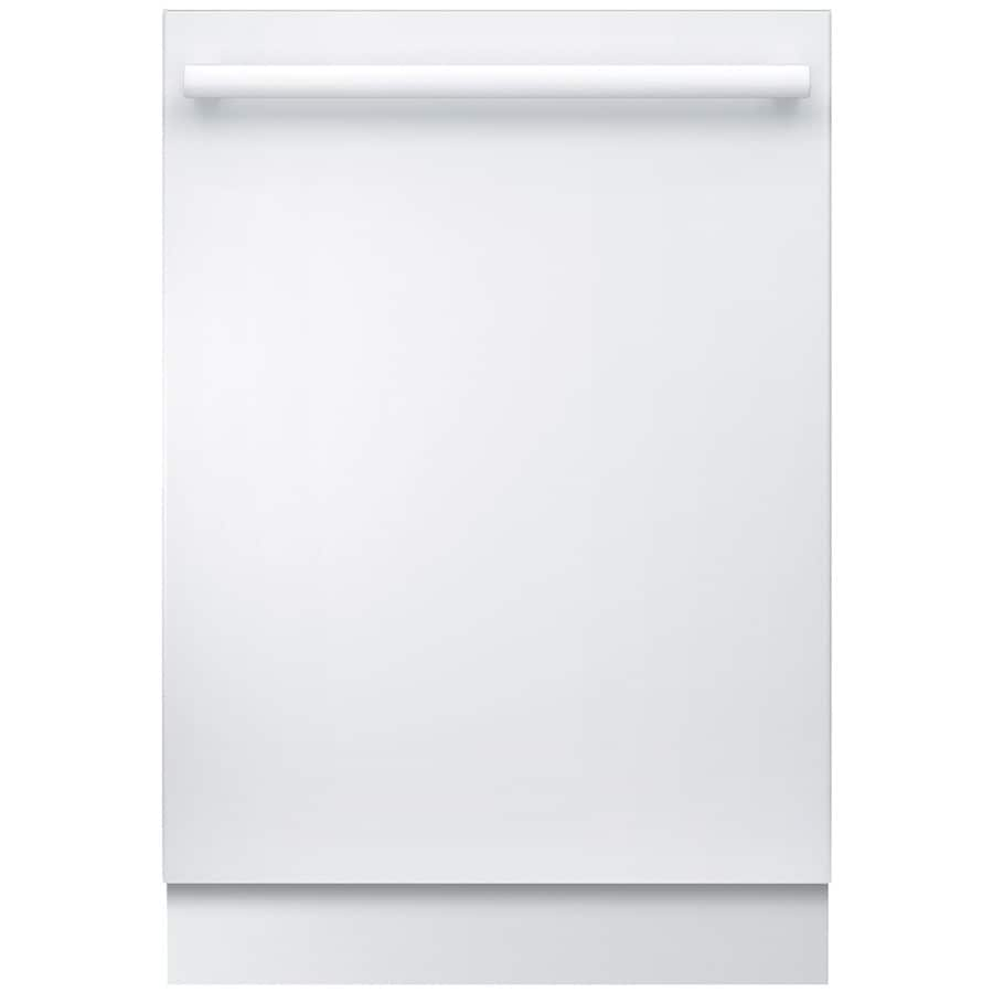 Bosch Ascenta 46-Decibel Built-In Dishwasher (White) (Common: 24-in; Actual: 23.563-in) ENERGY STAR