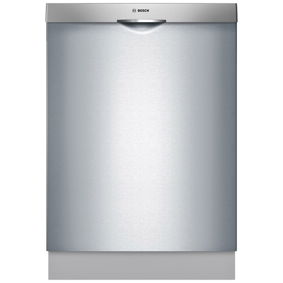 Bosch Ascenta 46-Decibel Built-In Dishwasher (Stainless Steel) (Common: 24-in; Actual: 23.563-in) ENERGY STAR