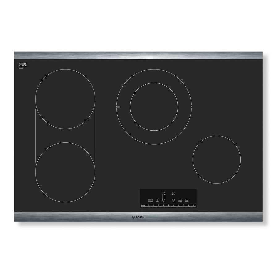 Bosch 800 Series Smooth Surface (Radiant) Electric Cooktop (Black) (Common: 30 Inch; Actual 31-in)