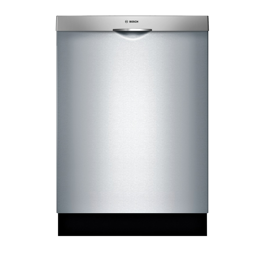 Bosch 300 Series 44-Decibel Built-In Dishwasher (Stainless Steel) (Common: 24-in; Actual: 23.5625-in) ENERGY STAR
