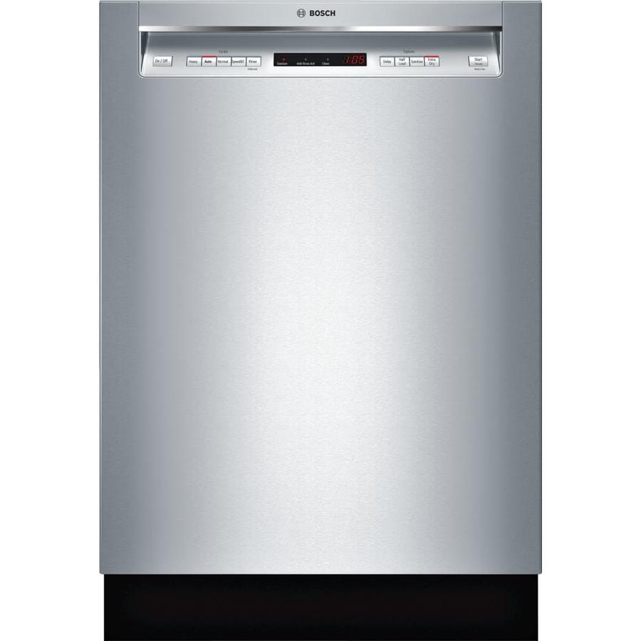 Shop Bosch 300 Series 44-Decibel Built-In Dishwasher ...