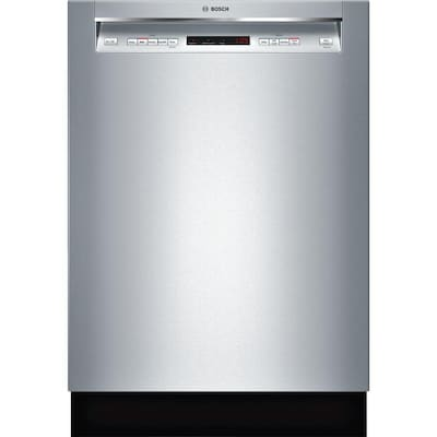 Bosch 300 44-Decibel Built-In Dishwasher (Stainless Steel
