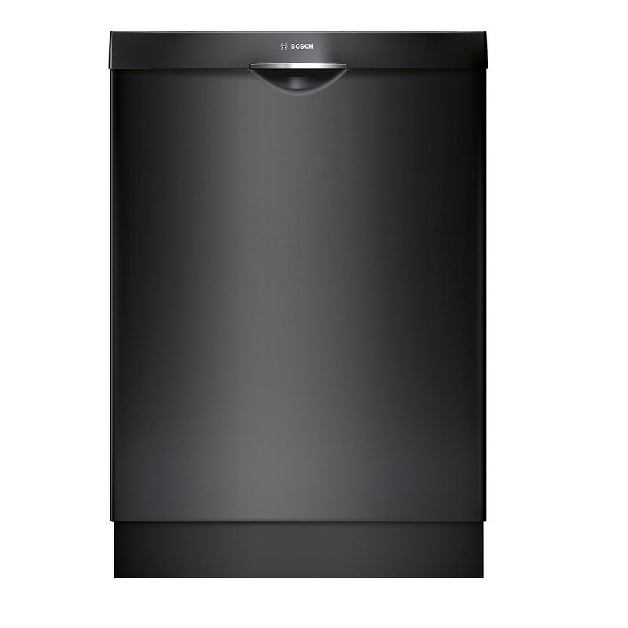 Bosch 300 Series 44-Decibel Built-in Dishwasher (Black) (Common: 24-in; Actual: 23.5625-in) ENERGY STAR