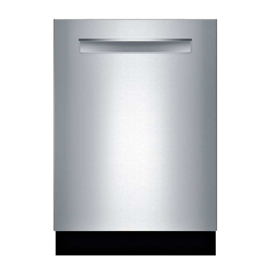 Bosch 500 24 In Stainless Steel Pocket Handle Tall Tub Dishwasher With