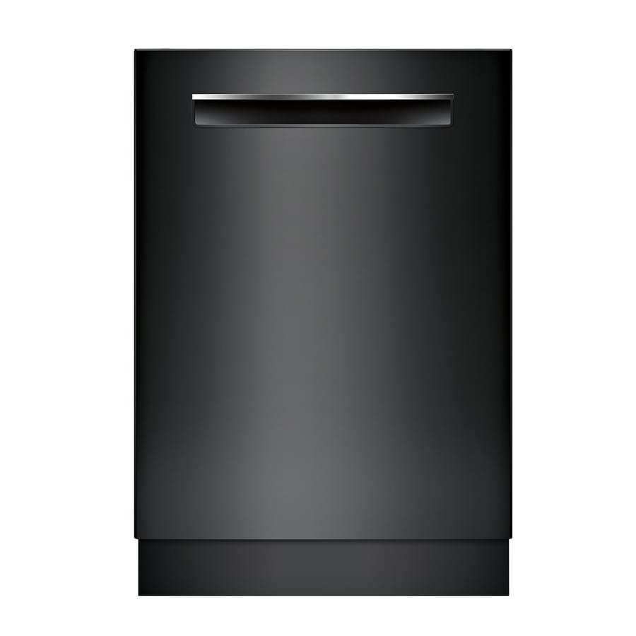 Bosch 500 Series 44-Decibel Built-in Dishwasher (Black) (Common: 24-in; Actual: 23.5625-in) ENERGY STAR