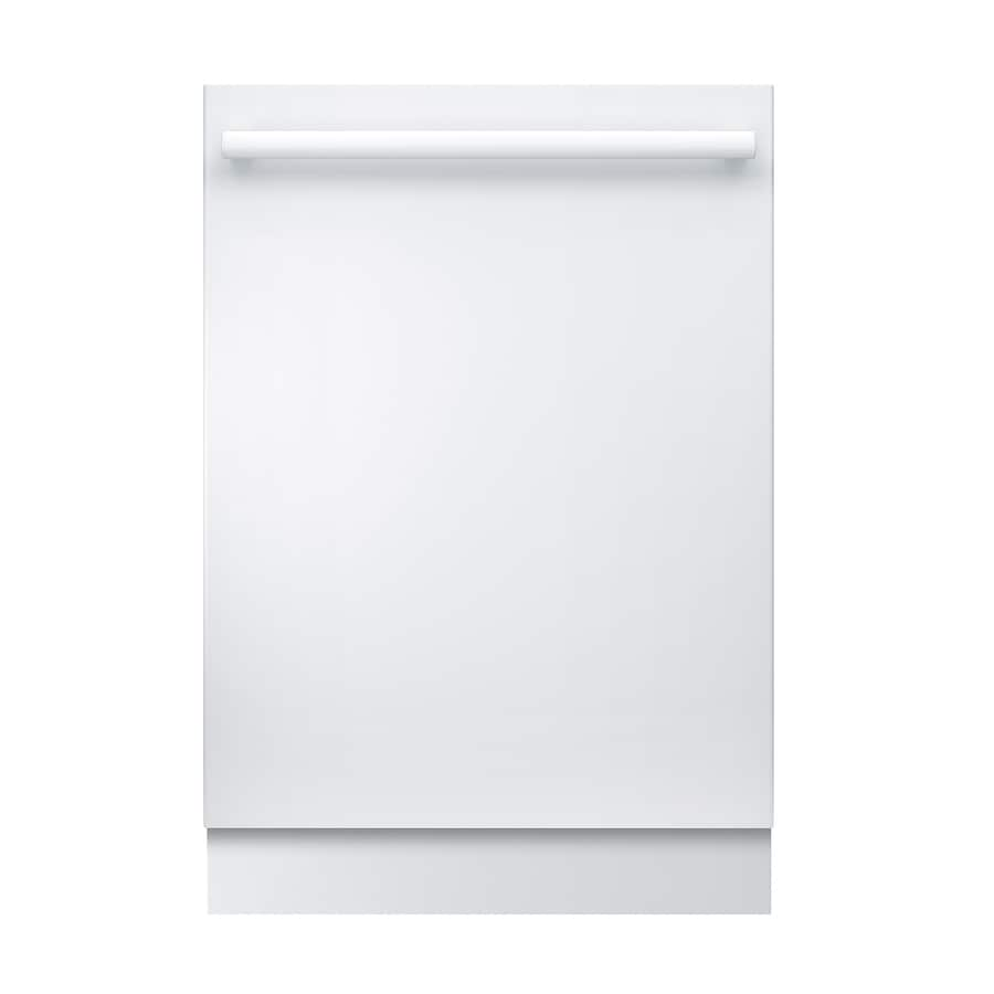 Bosch 800 Series 42-Decibel Built-in Dishwasher (White) (Common: 24-in; Actual: 23.5625-in) ENERGY STAR