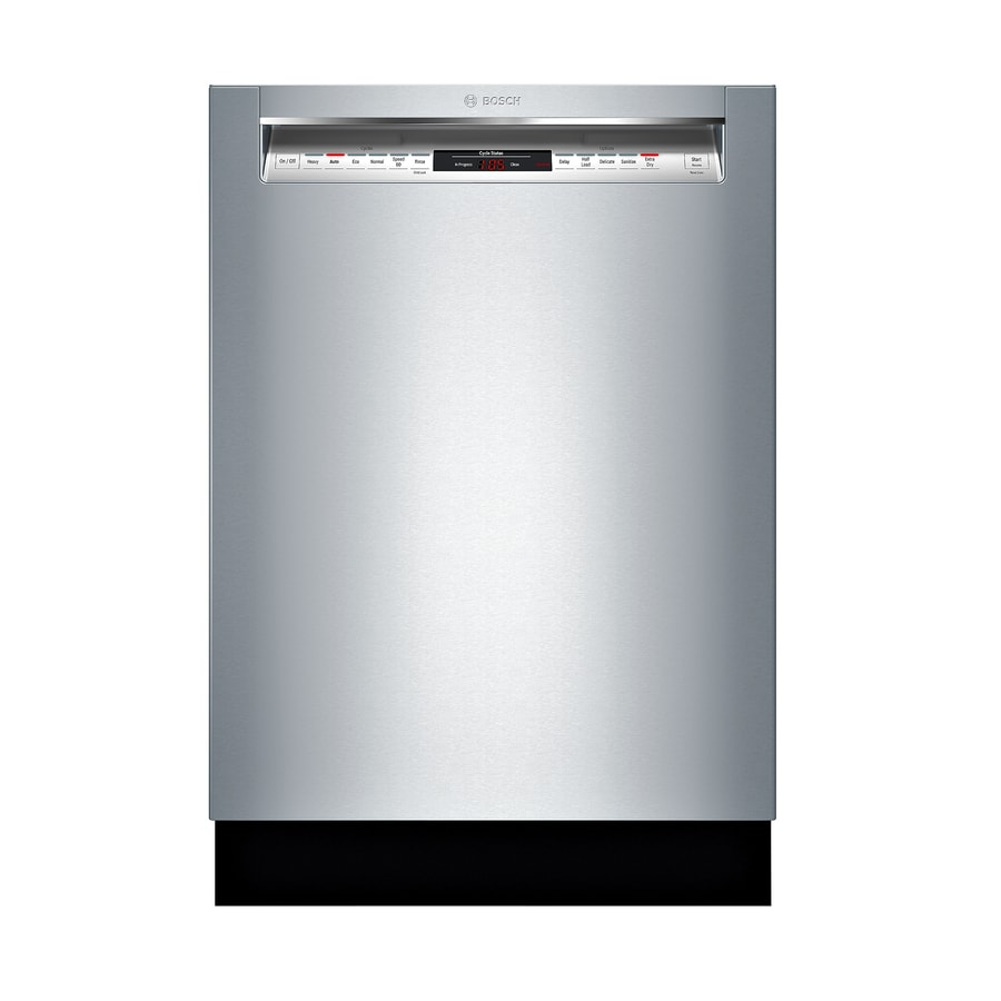 Shop Bosch 800 24-in Stainless Steel Touch Control ...