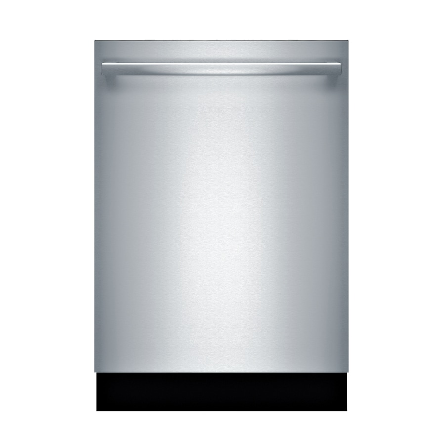 Bosch Water Softener 300 44-Decibel Built-in Dishwasher (Stainless Steel) (Common: 24-in; Actual: 23.5625-in) ENERGY STAR
