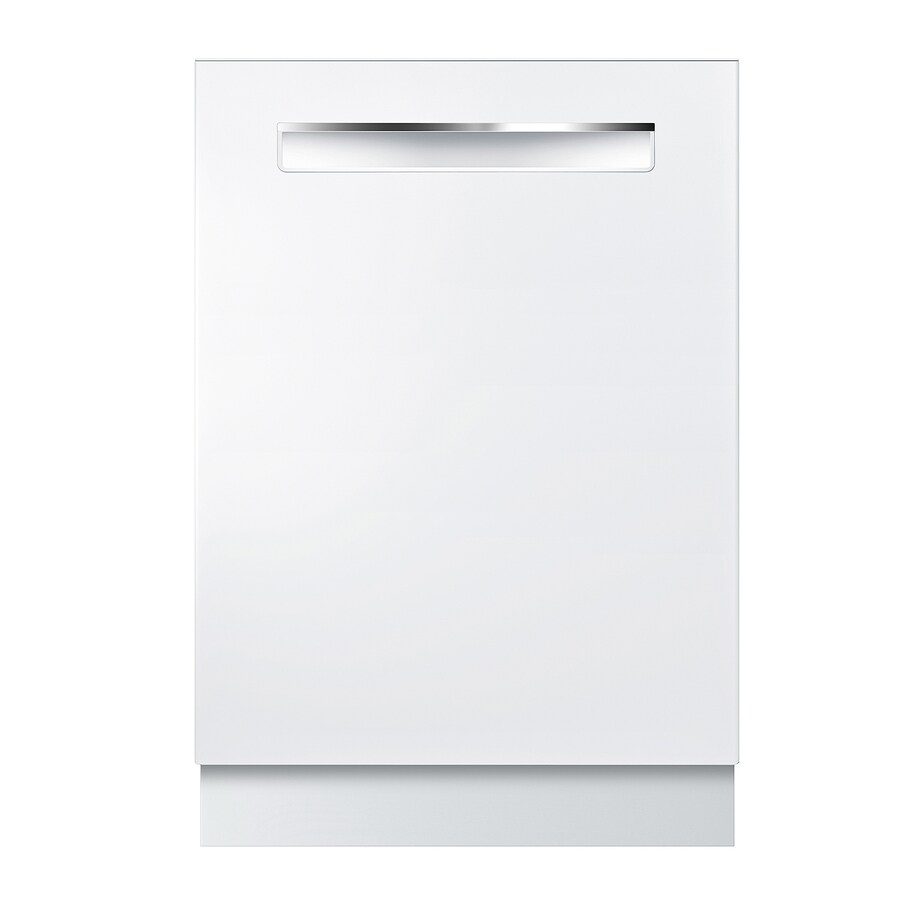 Bosch 500 Series 44-Decibel Built-in Dishwasher (White) (Common: 24-in; Actual: 23.5625-in) ENERGY STAR