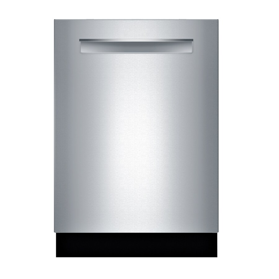 Bosch 500 Series 44-Decibel Built-In Dishwasher (Stainless Steel) (Common: 24-in; Actual: 23.5625-in) ENERGY STAR