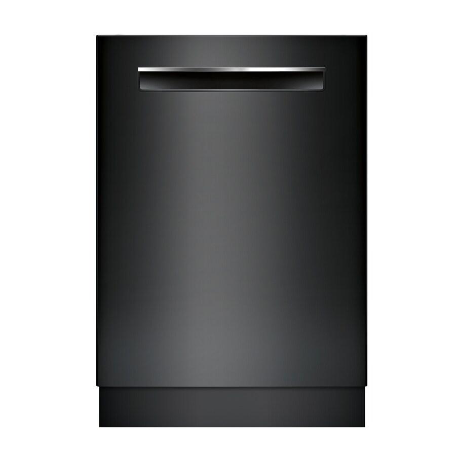 Bosch 500 44 Decibel Built In Dishwasher Black Common 24 Inch Actual 23 5625 Energy Star