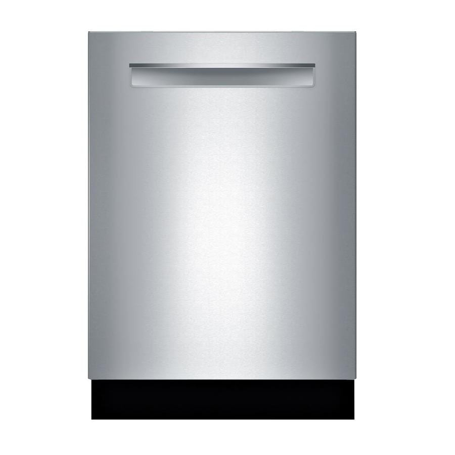 Bosch 800 Series 42-Decibel Built-in Dishwasher (Stainless Steel) (Common: 24-in; Actual: 23.5625-in) ENERGY STAR
