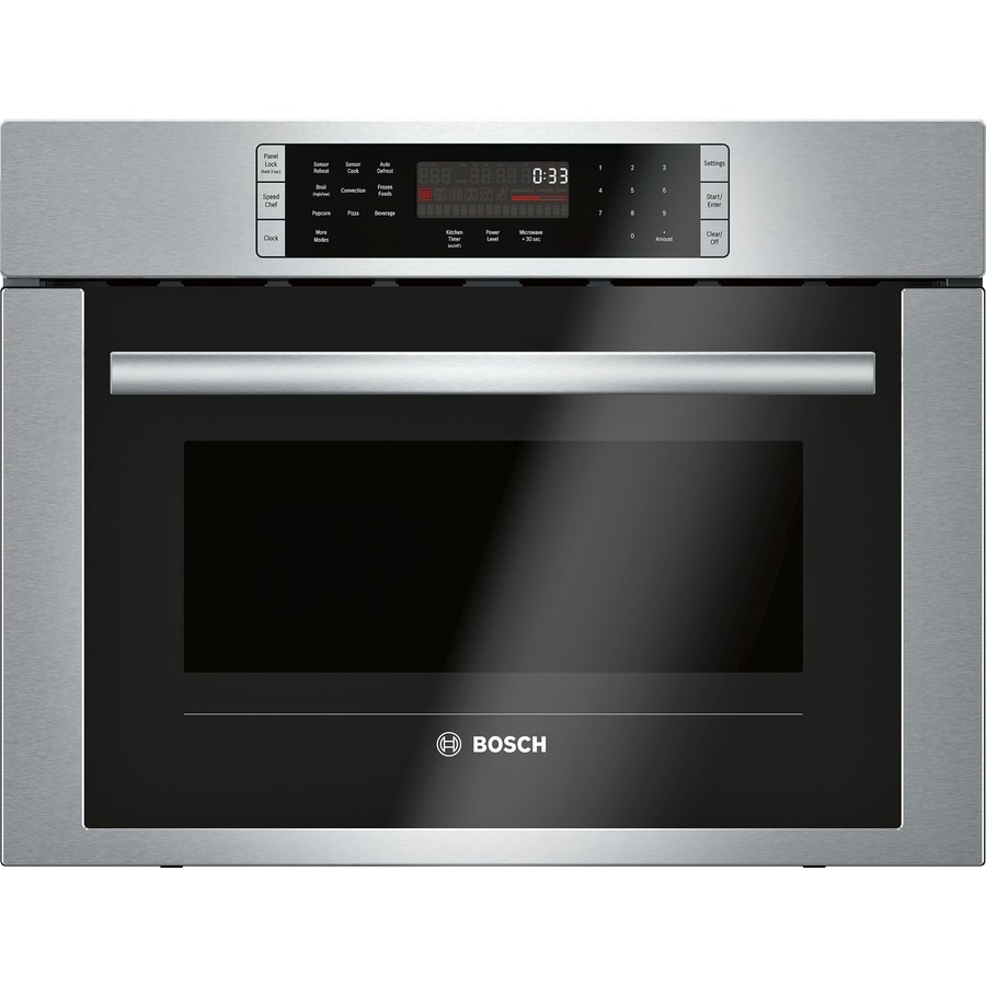 Bosch 500 Series 1 6 Cu Ft Built In Sd Cook Convection Microwave With Sensor