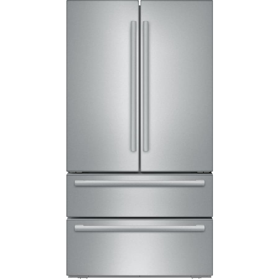 20 Cu Ft French Door Counter Depth: Bosch 800 Series 20.7-cu Ft 4-Door Counter-Depth French