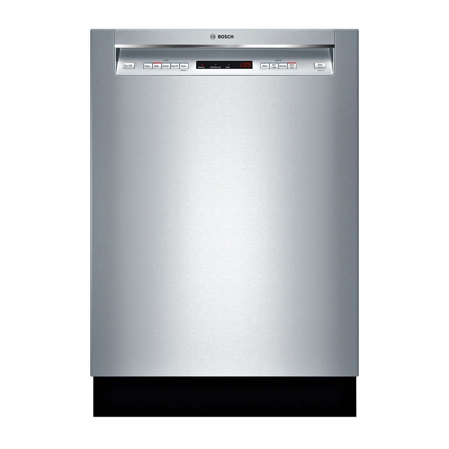 Shop Bosch 300 Series 44 Decibel Built In Dishwasher