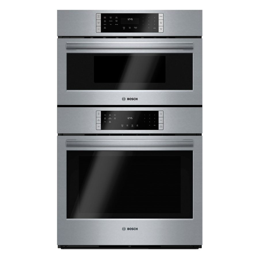 Bosch Self-Cleaning Microwave Wall Oven Combo (Common: 30-in; Actual: 29.75-in)