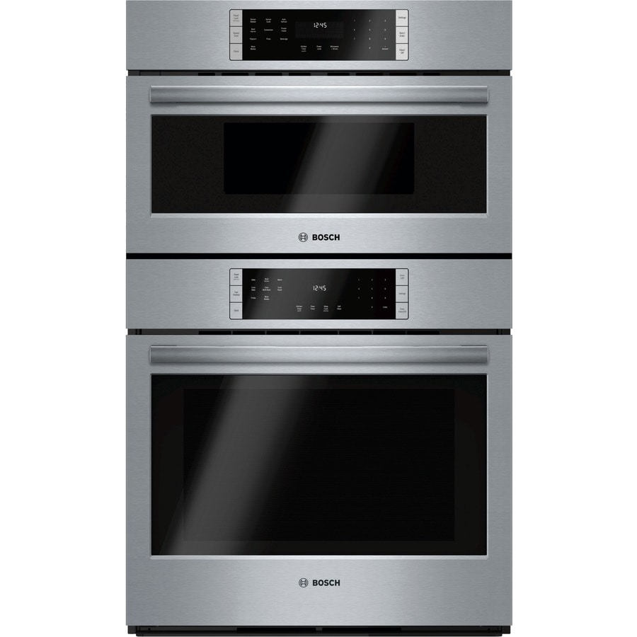 Bosch Self-Cleaning Convection Microwave Wall Oven Combo (Common: 30-in; Actual: 29.75-in)
