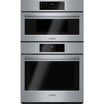 Self Cleaning Convection Microwave Wall Oven Combo Stainless Steel 30 Inch Actual 29 75 In