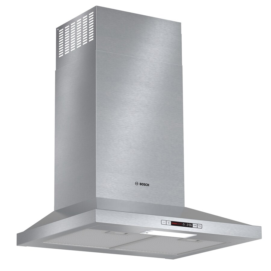 Bosch Convertible Wall-Mounted Range Hood (Stainless Steel) (Common: 24-in; Actual: 24-in)