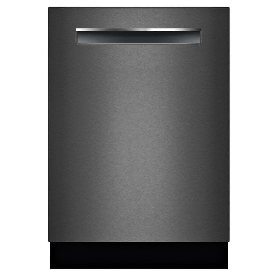 Bosch 800 42-Decibel Built-in Dishwasher (Black Stainless) Common: 24 -in; Actual: 23.5625-in) ENERGY STAR