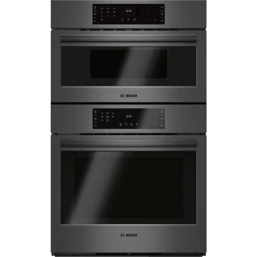 What Is A Combination Microwave Oven With Convection Oven: Bosch Self-cleaning Convection Microwave Wall Oven Combo
