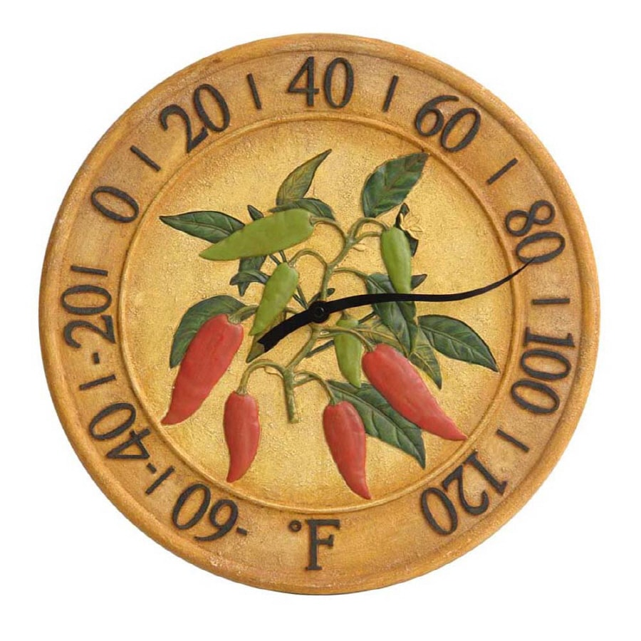 Garden Treasures Chili Pepper Thermometer