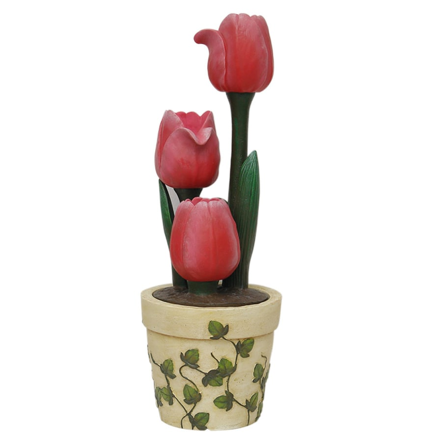 Garden Treasures Tulip Indoor/Outdoor Fountain With Pump