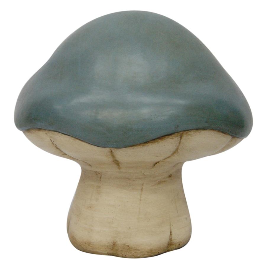 8.75-in H Mushroom Garden Statue