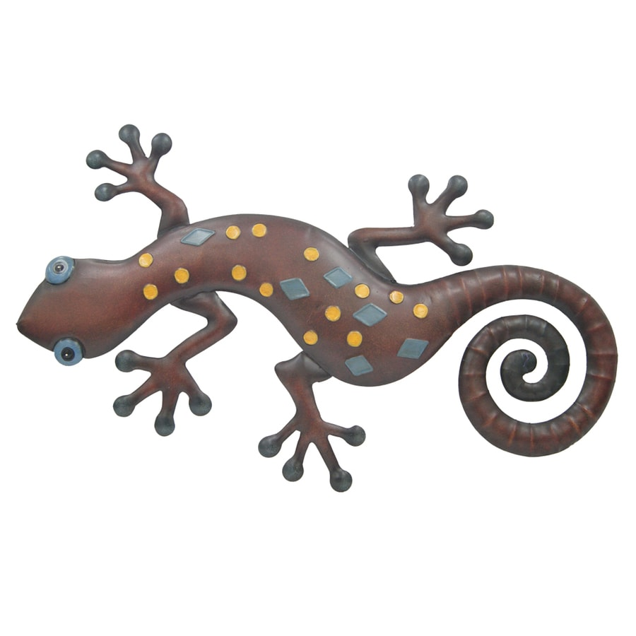 metal gecko wall art set of 12 intended for your inspiration