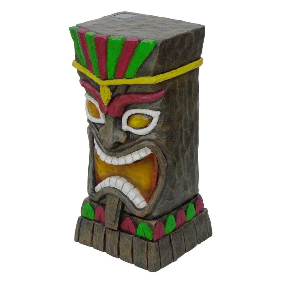 Garden Treasures 23-in Tiki Garden Statue