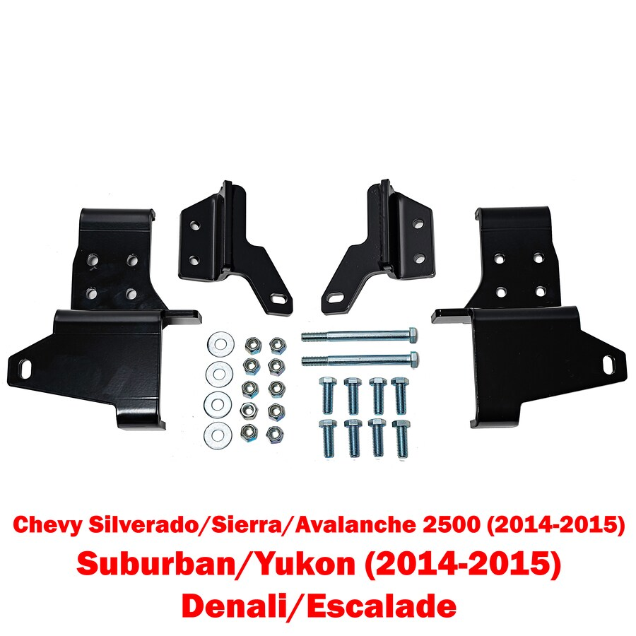 Detail K2 Snow Plow Mount for Silverado / Sierra 2500 14 - 16