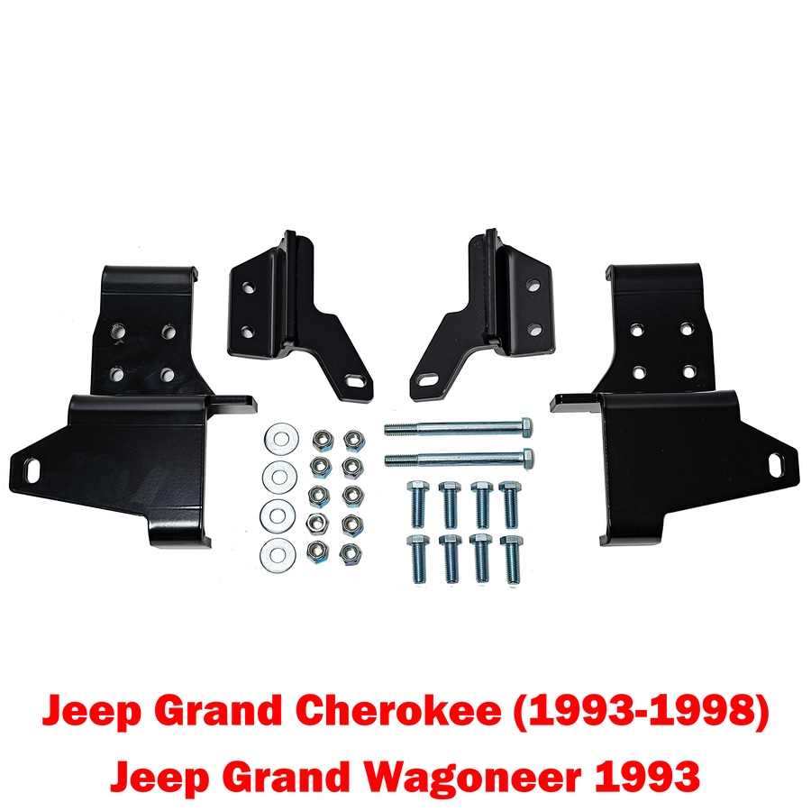 Detail K2 Snow Plow Mount for Jeep Grand Cherokee 93-98