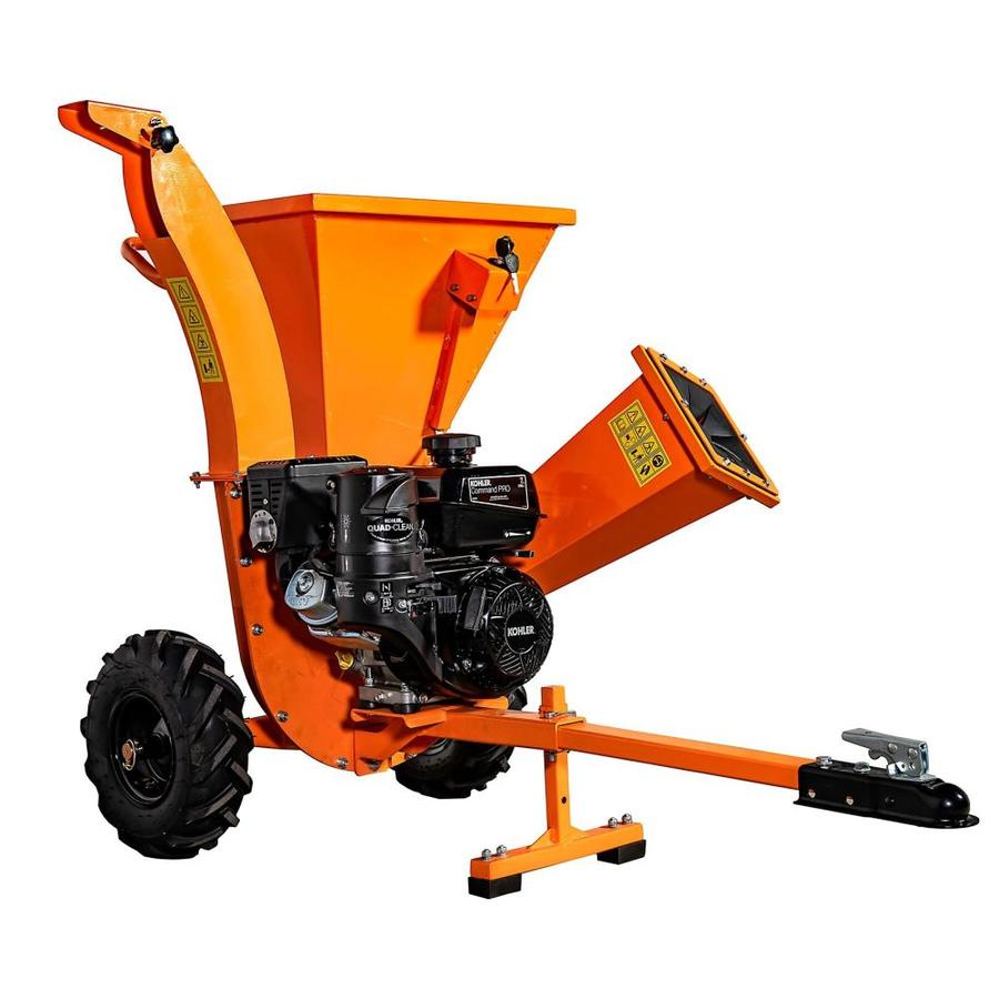 Detail K2 DK2 Power 208-cu cm Steel Gas Wood Chipper