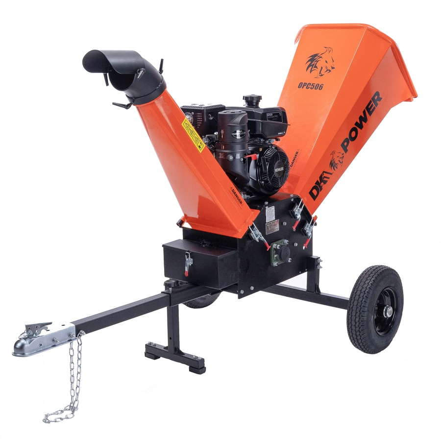 Detail K2 DK2 Power 429-cu cm Steel Gas Wood Chipper