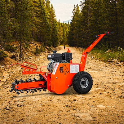 Detail K2 DK2 Power 18 -in Trencher at Lowes com