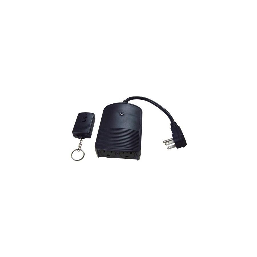 Utilitech Black Electrical Outlet